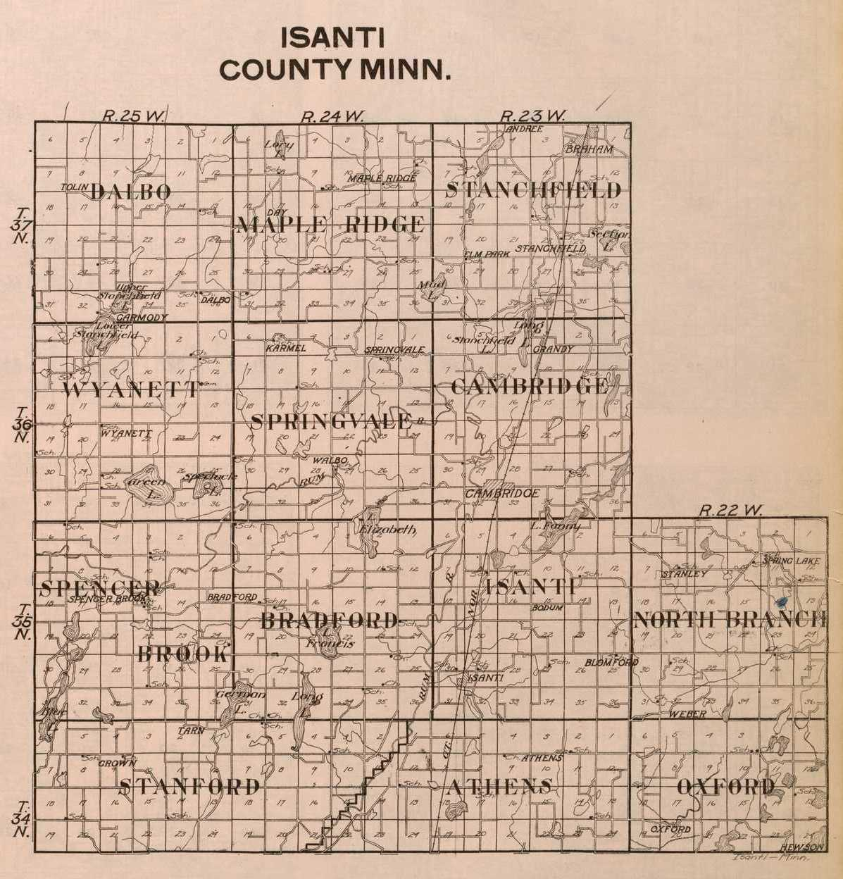 1916isanticounty Map Of Isanti County Mn on map of mcleod county mn, map of blue earth county mn, map of olmsted county mn, map of rock county mn, map of big stone county mn, map of washington county mn, map of mille lacs county mn, map of pennington county mn, map of pipestone county mn, anoka county mn, stearns county mn, map of wilkin county mn, map of crow wing county mn, map of wabasha county mn, map of yellow medicine county mn, map of ramsey county mn, map of todd county mn, map of ottertail county mn, map of glencoe county mn, map of wadena county mn,